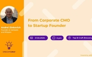 Open Coffee #123 - Andrei Zinkevich – From Corporate CMO to Startup Founder - Split | rep.hr
